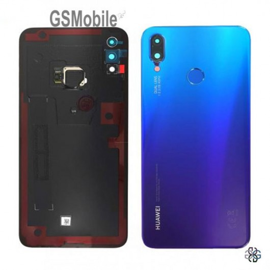 Huawei P smart Plus Battery cover purple - original