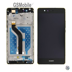 Pantalla completa con marco Huawei P9 Lite Negro