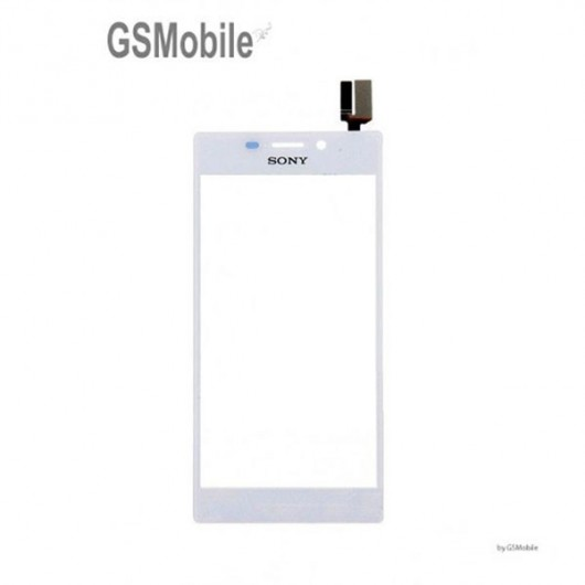 Ecrã Touch Screen branco Sony Xperia M2