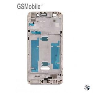 Chassi intermediário dourado Huawei Y6 II