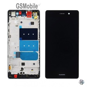 Ecrã - Display LCD Touch com frame Huawei P8 Lite Preto