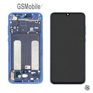 Ecrã - Display LCD Touch Xiaomi Mi9 Lite Azul original
