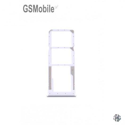 Xiaomi Redmi Note 9 SIM card and MicroSD tray white