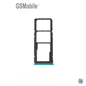 Bandeja de cartão SIM e SD verde Xiaomi Redmi Note 9