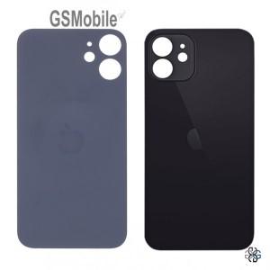 Tampa traseira preta para iPhone 12