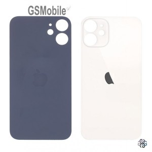 Tampa traseira branca para iPhone 12