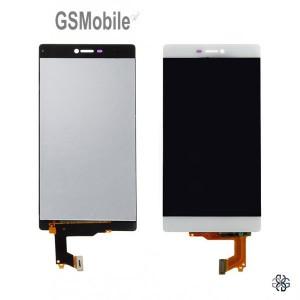 Ecrã - Display LCD Touch Huawei P8 Branco