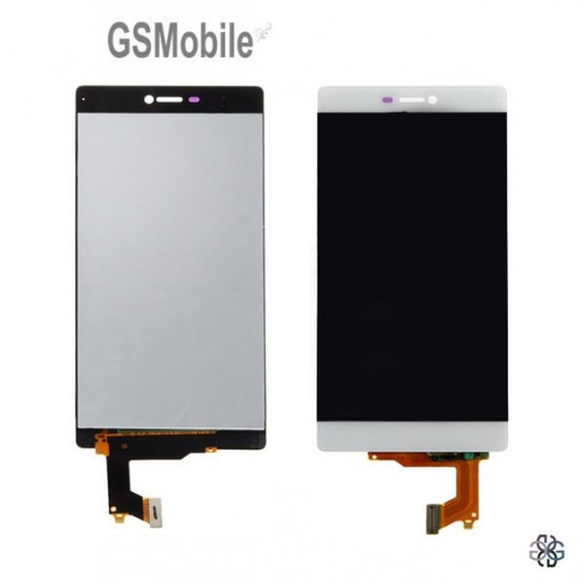 Display for Huawei P8 White