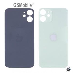 Tampa traseira verde para iPhone 12