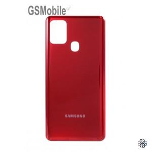Tampa traseira vermelha Samsung A21s Galaxy A217F