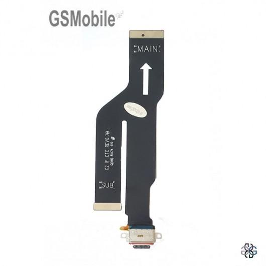 Samsung Note 20 Ultra Galaxy N985 Main flex + USB Typ-C Connector