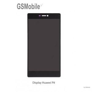 Ecrã - Display LCD Touch Huawei P8 Preto