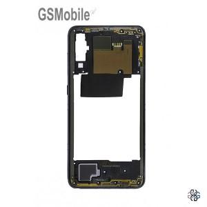 Chassi intermediário Samsung A70 2019 Galaxy A705F Preto - Original
