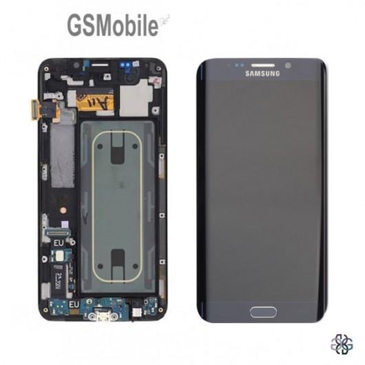 Display Samsung S6 Edge Plus Galaxy G928F Black - Original