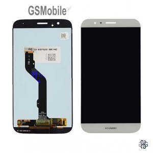 Ecrã - Display LCD Touch Huawei Ascend G8 Branco