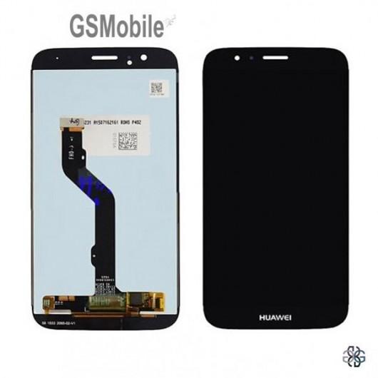 Ecrã - Display LCD Touch Huawei Ascend G8 Preto