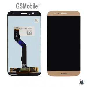 Ecrã - Display LCD Touch Huawei Ascend G8 Dourado