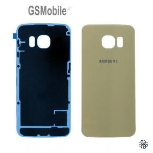 Tampa traseira Samsung S6 Edge Plus Galaxy G928F Dourado