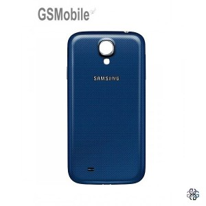 Samsung S4 Galaxy i9505 battery cover blue