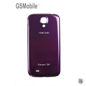 Samsung S4 Galaxy i9505 battery cover purple