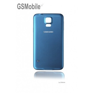 Samsung S5 Galaxy G900F battery cover blue