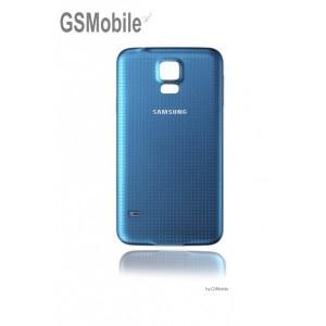 Tampa traseira Samsung S5 Galaxy G900F Azul
