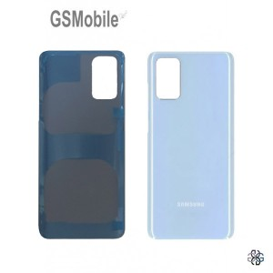 Samsung S20 Plus Galaxy G985F battery cover blue