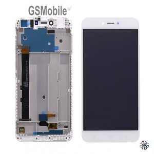 Ecrã - Display LCD Touch com frame Xiaomi Redmi Note 5A Prime Branco