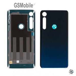 Motorola Moto One Macro Battery Cover blue Original