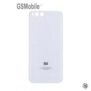 Xiaomi Mi6 battery cover white