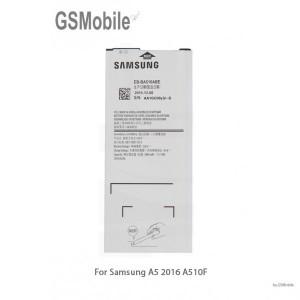 Bateria de substituição Samsung A5 2016 Galaxy A510F - peças para Samsung A510F