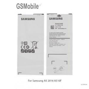 Bateria Samsung A5 2016 - peças para Samsung - peças Samsung Galaxy A5 2016