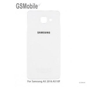 Samsung A5 2016 Galaxy A510F back cover white