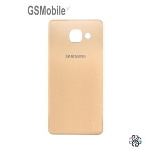 Samsung A3 2016 Galaxy A310F battery cover gold