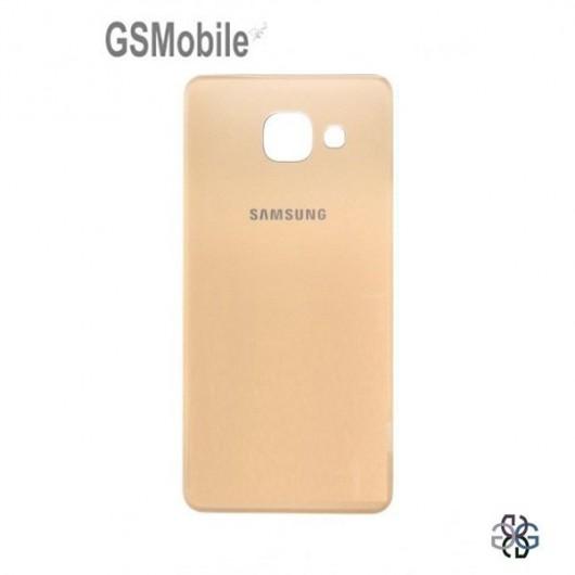 Tampa traseira dourada Samsung A3 2016 Galaxy A310F