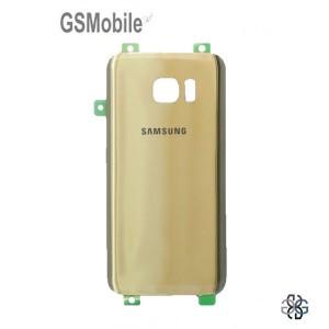 Tampa traseira Samsung S7 Galaxy G930F Dourado