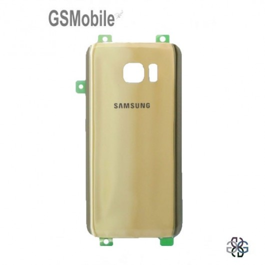 Battery cover Samsung S7 Galaxy G930F Gold