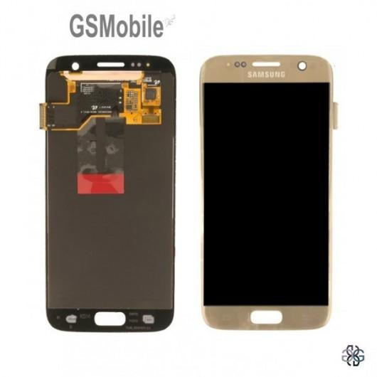 Display Samsung S7 Galaxy G930F Gold - Original