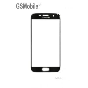 Samsung S7 Galaxy G930F Screen Glass Lens black