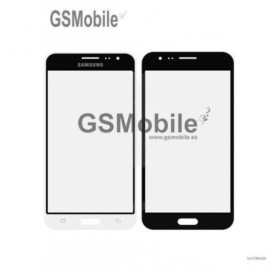 Vidro Dianteiro branco para Samsung J3 2016 Galaxy J320F