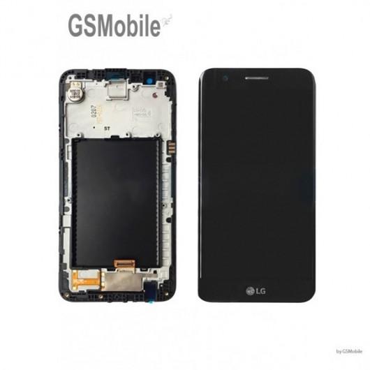LG K10 2017 M250N Display Original - Gold