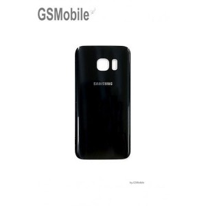 Black battery cover Galaxy S7 Edge