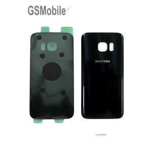 Battery Cover for Samsung S7 Edge Galaxy G935F Black