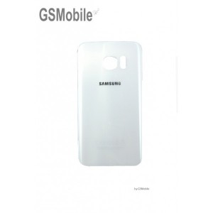 Battery Cover for Samsung S7 Edge Galaxy G935F White