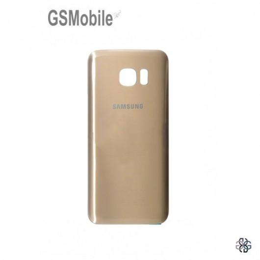 Tampa traseira Samsung S7 Edge Galaxy G935F Dourado