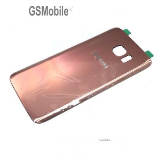 Tampa traseira Samsung S7 Edge Galaxy G935F Rosa