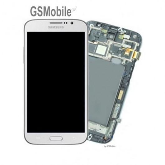 Pantalla completa Samsung i9200 Galaxy Mega Blanco
