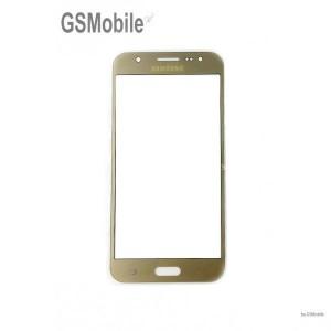 Samsung J5 2016 Galaxy J510F Screen Glass Lens gold