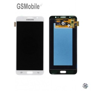 Ecrã - Display LCD Touch Samsung J7 2016 Galaxy J710F Branco Original