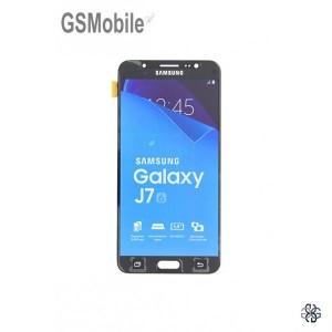 Ecrã - Display LCD Touch Samsung J7 2016 Galaxy J710F Preto Original